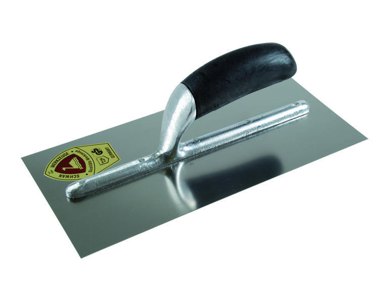 Finishing Trowel / stainless / PVC-shaft